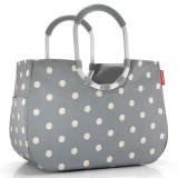 reisenthel Loopshopper L grey dots
